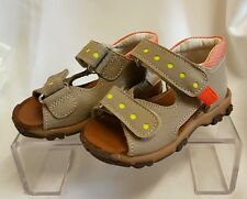 enfants jeunes filles bébé chaussures sandales Fabriqué Italie Gris 1108 taille
