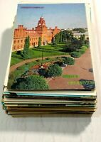 Lot 110+ pcs Russian Ukraine Cities Postcards Soviet Vintage Postcard 70s -80s