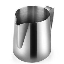 Flexzion Stainless Steel Milk Frothing Pitcher-Milk Boiler Cup Jug Creamer