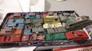 Vintage Lot of Toy Die Cast Cars Tootsietoy Goodee Midgetoy Jeep Volkswagon