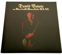 "10"" Maxi Vinyl David Bowie In Bertolt Brecht's Baal 6 Page Fold Out Cover Neu"