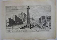 Colonna Trajana COLONNA TRAIANA ROMA ITALIA ORIG chiave in rame 1700