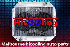 "3 ROW FORD F100 F250 F350 V8 RADIATOR 67-81 aluminum alloy radiator + 12"" FAN"