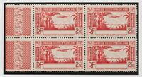 Coast Of Beige, Aéreo. MNH Yv 2a (4) .1940. 2´90 F Red, Block Of Cuatro. Yes