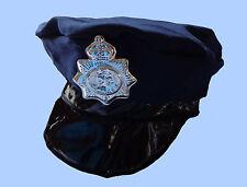 Baby Mütze American COP Polizei Agent Special Polizist Cap dunkelblau neu