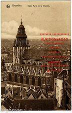 AK Brüssel BRUXELLES 1915 Kirche Eglise N.Dame de la Chapelle ungelaufen PK