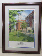 """Charles Peterson """"Time Honored Marietta"""" Print 8/200- Signed & Framed"""