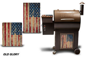 Traeger Smoker Grill Graphic Kit Decal Wrap Skin For CostCo Century Model GLORY