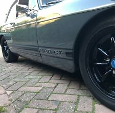 MGB GT / roadster side stripes custom two colour Decals Stickers any colours