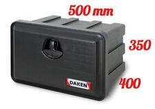 DAKEN Just 500 Coffre a outils 41L Boîte De Rangement Camions Boîte à outils