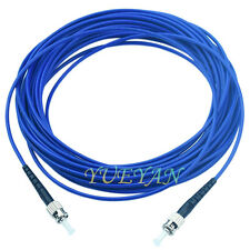 300M ST to ST Singlemode Armored  Fiber Optic Cable SM Simplex 3.0mm Patch Cord