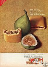1965 Nabisco Fig Newtons Print Ad Fig Jam Makes Fig Newtons Better