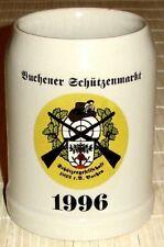 Bierkrug - BUCHENER SCHÜTZENMARKT 1996 - Schützengesellschaft 1822 e.V. Buchen
