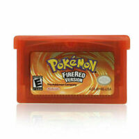 Nintendo Pokemon Fire Red FireRed Version GBA Gameboy Fan Advance Game Cartridge