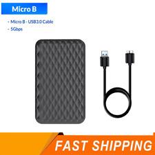 """2.5"""" 4TB SATA USB3.0 Disco duro externo, HDD/SSD Unidad De Estado Sólido caso"""