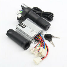 36V 1000W Motorcycle Controller Brushed+Throttle Twist Grips Electric Bike Scoot