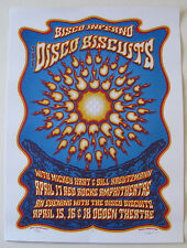 BISCO INFERNO - DISCO BISCUITS 2015 Red Rocks Concert /Gig Poster by Dave Hunter