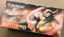MAGIC THE GATHERING BATTLEBOND BOOSTER BOX FREE PRIORITY MAIL SAME DAY SHIPPING