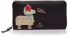 NWOT Kate Spade Haute Stuff Hola Pinata Applique Lacey Continental Wallet Clutch