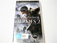 "MEDAL OF HONOR HEROES 2 PSP ""VGC"" AUZ SELLER"