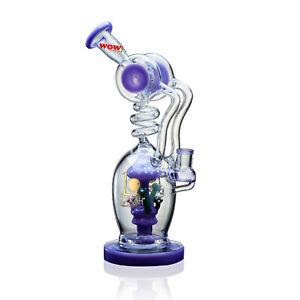WOW Water Glass Pipe Mushroom Valley WOW Lookah Glass Bottle