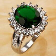 Handmade Emerald Fashion Rings