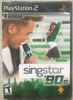 SingStar '90s, Sony Playstation 2 ( new factory sealed )[NO MICS INCLUDED) ps2