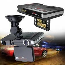 English&Russian MFP 5MP 720P Car DVR Recorder+Radar Laser speed Detector Alert
