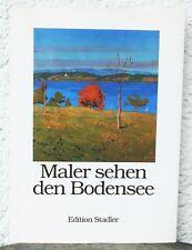 Carlo Karrenbauer SIGNIERT Maler sehen den Bodensee 200 Jahre Landschaftsmalerei