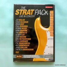 Strat Pack Live in Concert US DVD *NEW David Gilmour(Pink Floyd)Brian May(Queen)