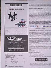 Boston Red Sox/NY Yankees 2004 ALCS Game 7 ALCS Ticket PDF -Damon/Pedro/Big Papi