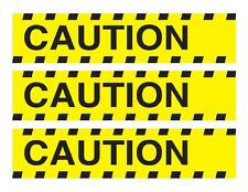 Caution tape edible cake strips cake wraps decorations