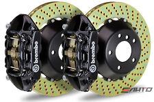 Brembo Rear GT Big Brake 4pot Caliper Black 380x28 Drill Disc 958 Cayenne Turbo