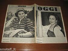 OGGI 1953/23=NADIA GRAY=ROSSANA CARTERI=BASIANO=KIMBERLEY DIAMANTI=