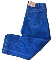"Vintage Levi's 20505-0217 Jeans 505 Orange Tab USA W 36  X 26 1/2"" Inseam"