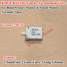 DC 6V Micro Electric Solenoid Valve Exhaust Air Valve Blood Pressure Monitor N/O