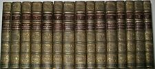 LEATHER Set;WILLIAM SHAKESPEARE'S WORKS!Valpy FIRST EDITION 1832! PLATES BOYDELL