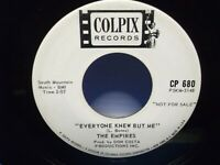 "The Empires,Colpix 680,""Three Little Fishies""US,7"" 45,White Promo labels,doo wop"
