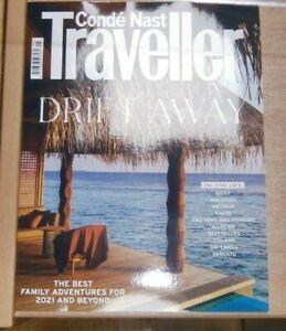 Conde Nast Traveller magazine May 2021 Drift Away Island life Sicily Maldives