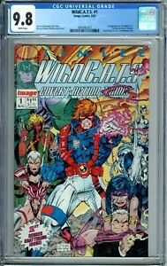 WILDC.A.T.S. 1 CGC 9.8 WP COVERT ACTION TEAMS Non-Circulated Case IMAGE COMICS
