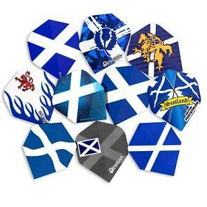 10 Sets (30) Scotland Darts Flights Mixed Designs Standard Shape Scottish