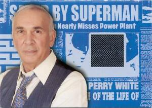 Superman Returns Movie Perry Whites 3-Piece Suit Costume Card