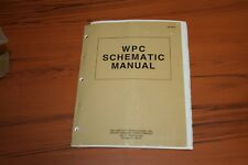 Williams Wpc Schematic Pinball Manual (See Photos)