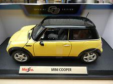 MINI COOPER Diecast Model Car 1:18 Maisto Special Edition NEW