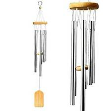 """25"""" Wind Chimes Aluminum Tubes Hanging Ornament Home Outdoor Garden Yard Decor"""