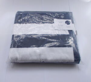 JOHN LEWIS DECKCHAIR STRIPE LARGE BEACH TOWEL NAVY - NEW / WITH TAGS