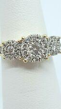 Vintage 14kt Yellow Gold Diamond Engagement Ring