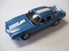 1:24 SCALE WELLY 1972 PONTIAC FIREBIRD TRANS AM DIECAST CAR W/O BOX