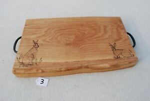 Luxury Oak Wood Food Chopping, Bread Boards, Serving Board No.3