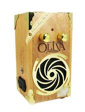 Gold Hurricane Cigar Box Guitar Amplifier - Cool look & nice loud sound 52-06-01